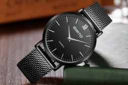 A picture of Часовник GIMTO Classic Black