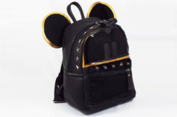 A picture of Малка кожена раница Mickey Luxury