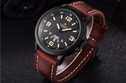 Additional picture of Часовник NaviForce Casual Brown